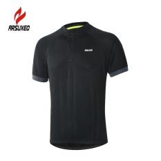 Jual Arsuxeo Men Running T Shirt Cepat Kering Bernapas Olahraga Shirt Outdoor Pendek Lengan Olahraga Bersepeda Jersey Intl Murah