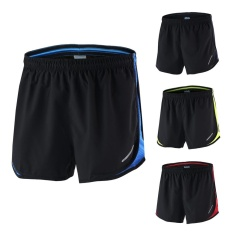 Harga Arsuxeo Men S 2 In 1 Running Shorts Quick Dry Marathon Training Fitness Running Cycling Sports Shorts Trunks Intl Arsuxeo Tiongkok