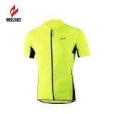 Arsuxeo Baju Olahraga Sepeda Untuk Pria Jersey Bernapas Kaos Lengan Pendek Intl Asli