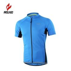 Harga Arsuxeo Baju Olahraga Sepeda Untuk Pria Jersey Bernapas Kaos Lengan Pendek Intl New