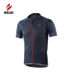 Toko Arsuxeo Men S Short Sleeve Cycling Jersey Breathable Shirt Sportswear Quick Dry Short Sleeve Mtb Bike Cycling Shirt Intl Terdekat