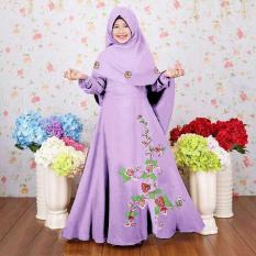 Arsy gamis kid syari best seller newone shop fashion muslim anak wanita