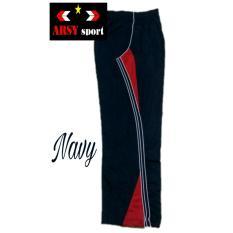 Arsy Sport Celana Training Model LIs 3 - Nevy Merah