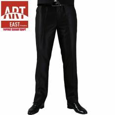 Iklan Arteast Yours Celana Kerja Formal Pria Standart Bahan Twist Hitam Claster
