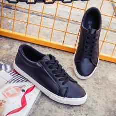 Artis Kulit Putih Datar Model Sama Renda Sepatu Sepatu Kets Putih (Hitam) sepatu Wanita Sepatu Olahraga Sepatu Sneakers Wanita