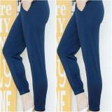 Spesifikasi Arwearhouse Celana Jogger Wanita Navy Yg Baik