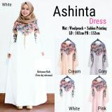 Harga Ashinta Dress Warna White Jasmine Online