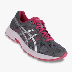 Asics Gel-Contend 4 Women's Running Shoes - Standard Wide - Abu-abu