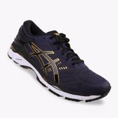 Asics Gel Kayano 24 Men S Running Shoes Standard Wide Navy Asics Diskon