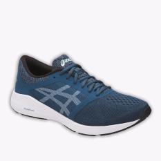 Harga Asics Roadhawk Ff Men S Running Shoes Standard Wide Navy Yang Murah
