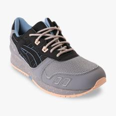 Asics Tiger Tiger Gel-Lyte III Women's Lifestyle Shoes - Abu-abu-Hitam