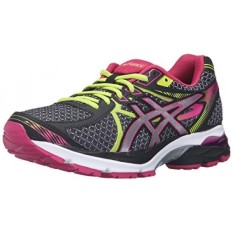 ASICS Womens Gel-Flux 3 Running Shoe, Black/Silver/Sport Pink, 12 M US - intl
