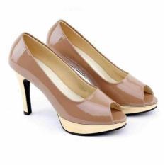 asli distro...Heels sepatu cream pesta-sepatu wanita panggung grc ori