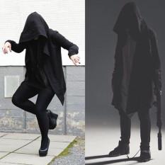 Assassin Creed Setengah Panjang Model Even The Topi Hitam Gelap Model Sama Kardigan Penyihir Topi (Album) Yang) baju Atasan Sweater On Pria