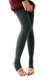 Iklan Astar Wanita Nyaman Celana Celana Tights Stirrup Pants Legging Dark Grey