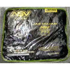 ASV Jas Hujan Tipe 4 Original Bahan Tebal Dan Kuat - Hitam