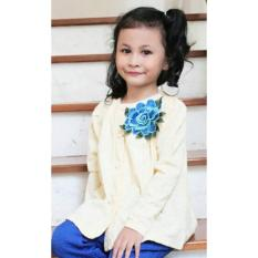 Beli Atasan Anak Flower Cream Online Terpercaya