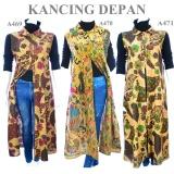 Diskon Atasan Batik Blouse Batik Wanita Outer A470