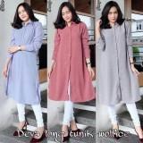 Katalog Atasan Blouse Deva Long Tunik Baju Muslim Blus Muslim Blouse Atasan Terbaru