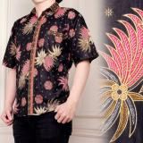 Spesifikasi Atasan Kemeja Batik Pria Jumbo Shirt Rony Merah Yang Bagus Dan Murah