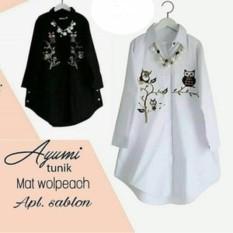 Beli Atasan Wanita Ayumi Tunik Blouse Baju Muslim Blus Muslim Kredit