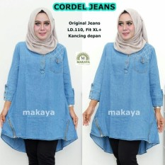 Blouse Wanita Big Sz Jumbo Blouse 5 Model elevenia Source · Atasan Wanita Blouse Jeans Codel