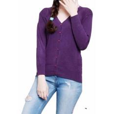 Atasan Wanita - Cardigan - Basic Cardy - Spandek Knite - ToscaIDR39000. Rp 39.750