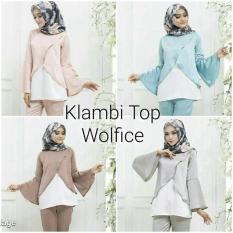 Atasan Wanita Muslim / Hijab Murah : Klambi Top