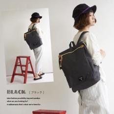 Atdiva Stylish Flap Backpack Wih Large Capacity - Black