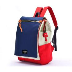 Harga Atdiva Stylish Flap Backpack Wih Large Capacity Redmix Paling Murah