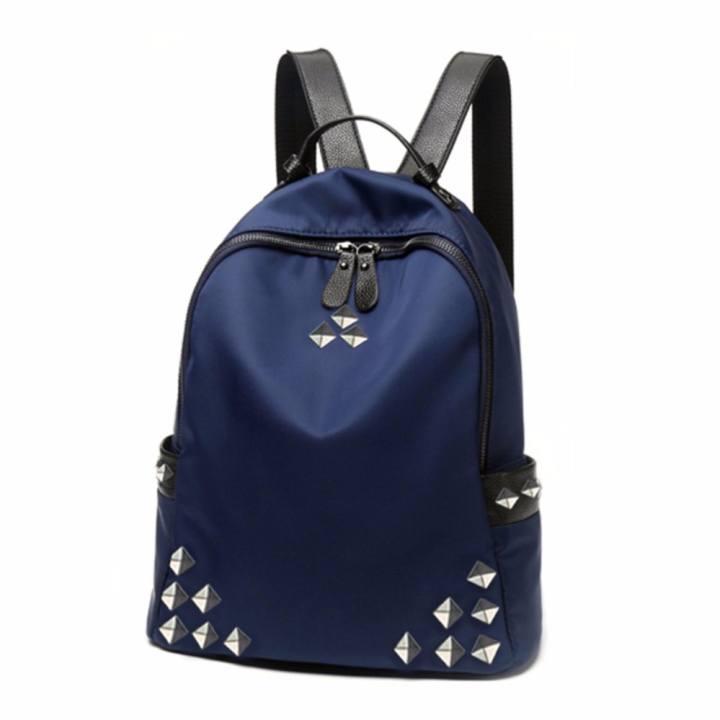 Atdiva Tas Ransel Fashion Import Three Stars Aksen - Navy