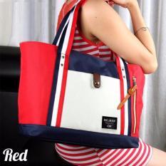 Promo Atdiva Tas Tote Wanita Korea Import Model Red