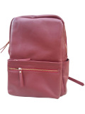 Spek Atha Backpack Women Leather Bag Maroon Tas Ransel Tas Punggung Kulit Wanita Merah Marun