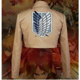 Harga Attack On Titan Shingeki Kyojin Scouting Legion Cosplay Jacket Coat L Intl Yang Bagus