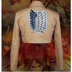 Beli Attack On Titan Shingeki Kyojin Scouting Legion Cosplay Jacket Coat L Intl Secara Angsuran