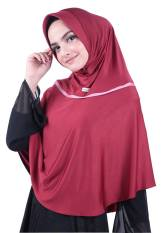 Atteenahijab Alisa Nuura - Merah Hati