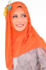 Atteenahijab Hoodie Hazna - Oranye