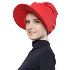Attiqahijab Traveller Bonnet (Instant, Sport Cap) Red