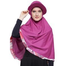 Attiqahijab Traveller Fantasia (Instant, Sport Cap) Purple