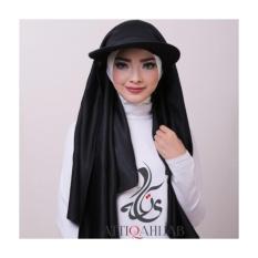 Attiqahijab Traveller (Instant, Sport Cap) Black