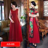 Jual Audrey Baru Terlihat Langsing Slim Peningkatan Model Panjang Gaun Cheongsam Ad 03 Baju Wanita Dress Wanita Gaun Wanita Oem Ori