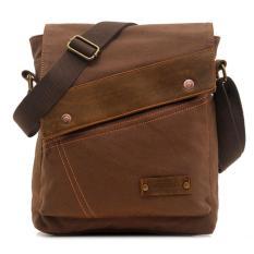 Beli Augur Man S Shoulder Bag Tas Bahu Tsj344 Brown Tas Pria Online Terpercaya