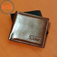 Augustine Dompet Fashion Pria 5 Inchi 1107-05 Kulit Sintetis Simple - Brown