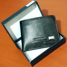 Harga Augustine Dompet Fashion Pria 5 Inchi A025 1W Pu Leather Sintetis Original Black Box Baru Murah