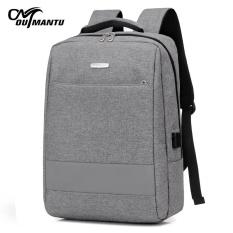 Auman figure wholesale shoulder computer bag backpack 15.6 inch Laptop Bag student bag business casual men