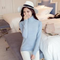 Cuci Gudang Musim Gugur And Musim Dingin Baru Leher Tinggi Korea Sweater Lengan Panjang Lebih Tebal Slim For Musim Gugur Untuk Wanita China