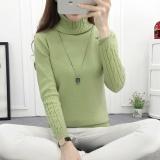 Toko Musim Gugur Dan Musim Dingin Korea Versi Baru Kerah Tinggi Menebal Lengan Panjang Sweater Untuk Wanita Intl Oem Di Tiongkok