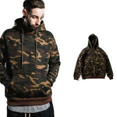 Jual Autumn And Winter New Men S Casual Hooded Pullover Camouflage Hoodies Intl Di Tiongkok