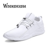 Diskon Musim Gugur Baru Fashion Sepatu Kasual Pria Bernapas Olahraga Menjalankan Sepatu Putih Intl Windriderism
