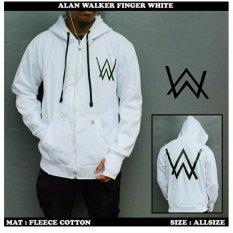 Toko Aweater Pria Alan Walker Finger White Fleece Tebal Lengkap Jawa Barat